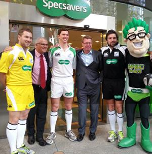 Specsavers Launch Sponsorship of IRB Referees for the 2013 Lions Tour