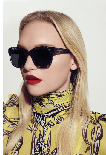 Exclusive Bold Oversized ELLERY Sunglasses